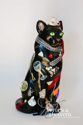 Veronica Chewens Photography: 2018 Catskill Cats &emdash; 4 China Closet Cat (2)