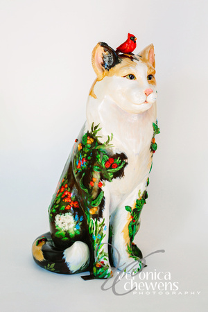 Veronica Chewens Photography: 2018 Catskill Cats &emdash; 7 In the Garden (2)