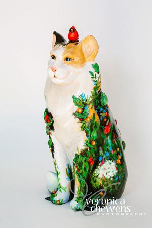 Veronica Chewens Photography: 2018 Catskill Cats &emdash; 7 In the Garden (3)