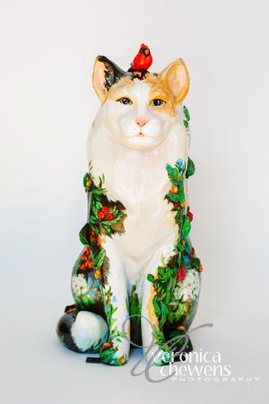 Veronica Chewens Photography: 2018 Catskill Cats &emdash; 7 In the Garden
