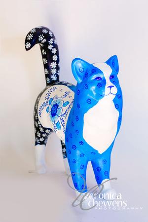 Veronica Chewens Photography: 2018 Catskill Cats &emdash; 18 Delft Cat (2)