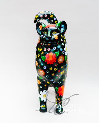 Veronica Chewens Photography: 2019 Cats &emdash; #9 Russian Folk Art Cat (2)