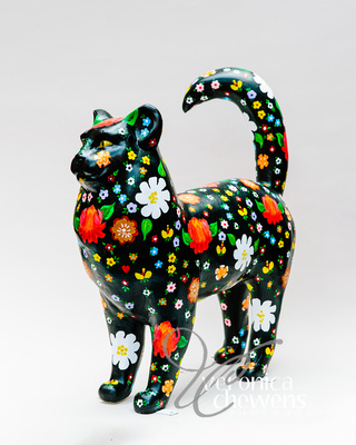 Veronica Chewens Photography: 2019 Cats &emdash; #9 Russian Folk Art Cat
