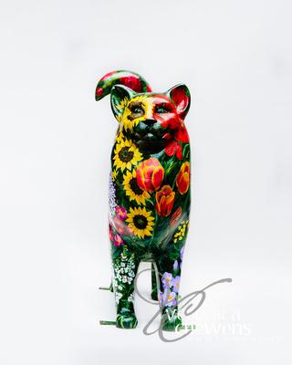 Veronica Chewens Photography: 2019 Cats &emdash; #23 Garden Ecatstacy 2 (2)