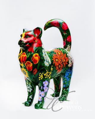 Veronica Chewens Photography: 2019 Cats &emdash; #23 Garden Ecatstacy 2 (3)
