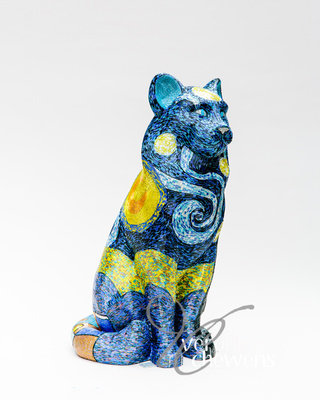 Veronica Chewens Photography: 2019 Cats &emdash; #28 Starry Starry Night (2)