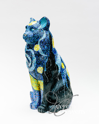 Veronica Chewens Photography: 2019 Cats &emdash; #28 Starry Starry Night (3)