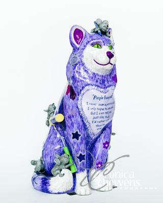 Veronica Chewens Photography: 2017 Catskill Cats &emdash; Purple Pussycat